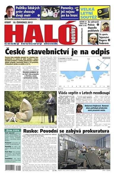 Haló noviny - 10_07_2012 - Elektronické noviny