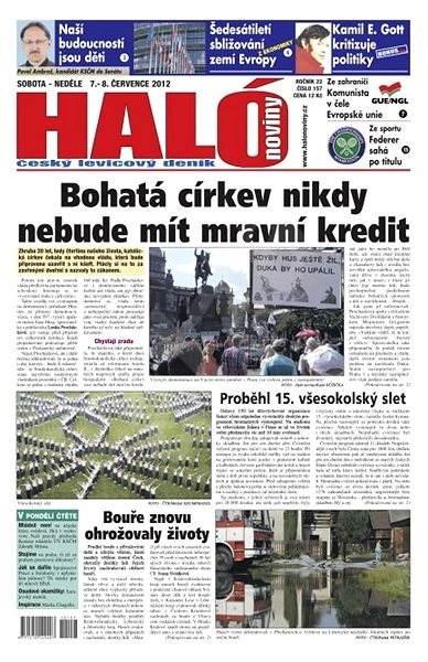Haló noviny - 07_07_2012 - Elektronické noviny