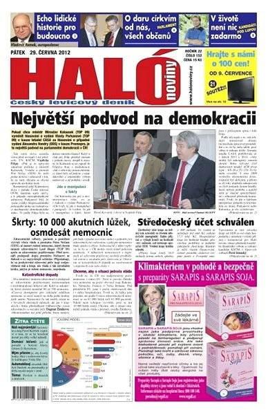 Haló noviny - 29_06_2012 - Elektronické noviny