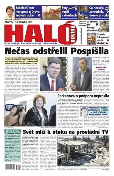 Haló noviny - 28_06_2012 - Elektronické noviny