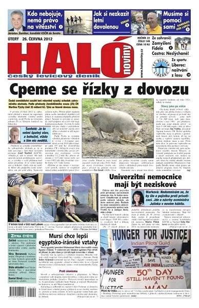 Haló noviny - 26_06_2012 - Elektronické noviny