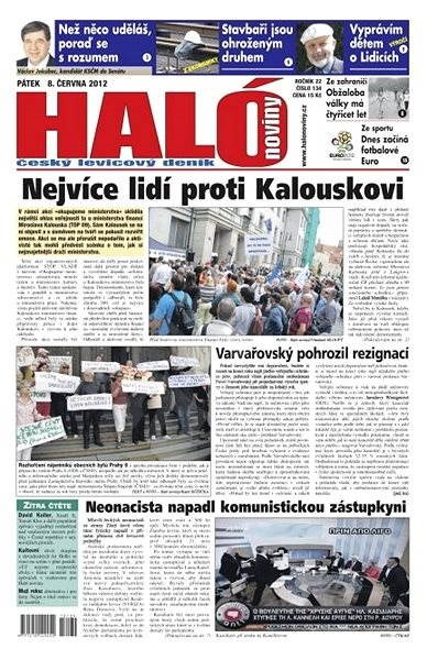 Haló noviny - 08_06_2012 - Elektronické noviny