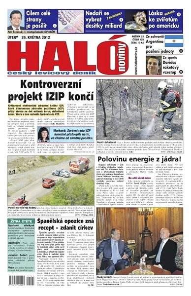 Haló noviny - 29_05_2012 - Elektronické noviny