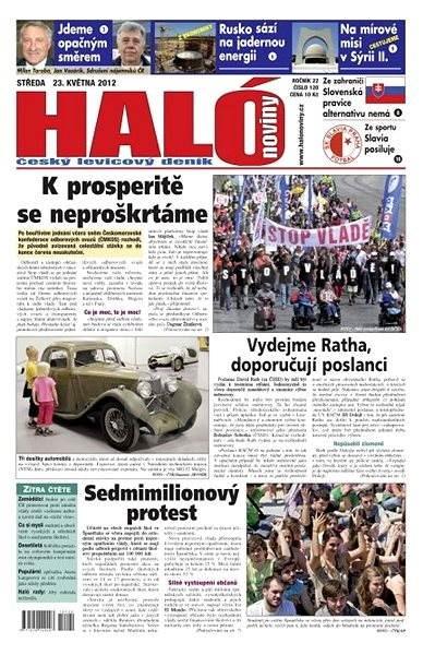 Haló noviny - 23_05_2012 - Elektronické noviny