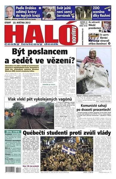 Haló noviny - 22_05_2012 - Elektronické noviny