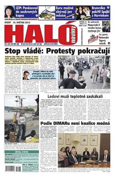 Haló noviny - 15_05_2012 - Elektronické noviny