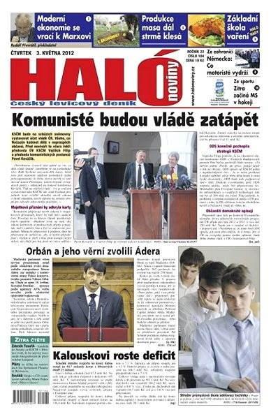 Haló noviny - 03_05_2012 - Elektronické noviny