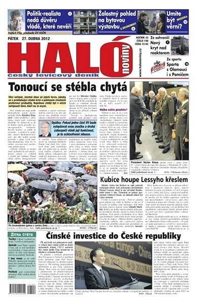Haló noviny - 27_04_2012 - Elektronické noviny