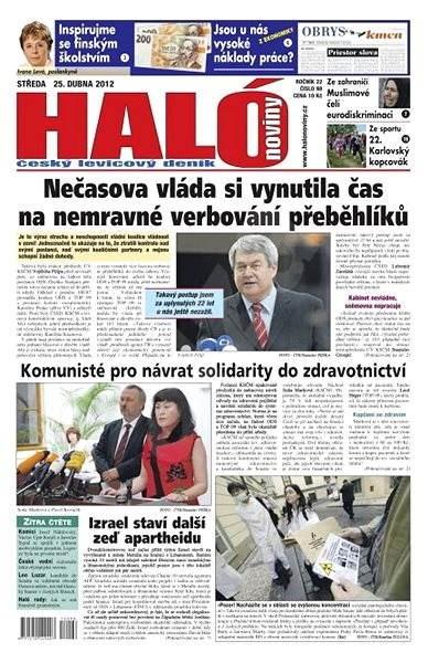 Haló noviny - 25_04_2012 - Elektronické noviny