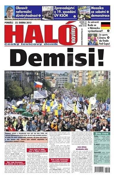 Haló noviny - 23_04_2012 - Elektronické noviny