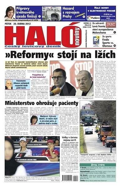 Haló noviny - 20_04_2012 - Elektronické noviny