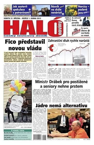 Haló noviny - 31_03_2012 - Elektronické noviny