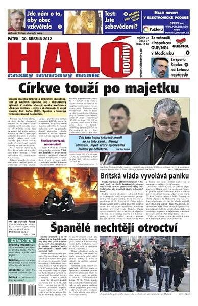 Haló noviny - 30_03_2012 - Elektronické noviny