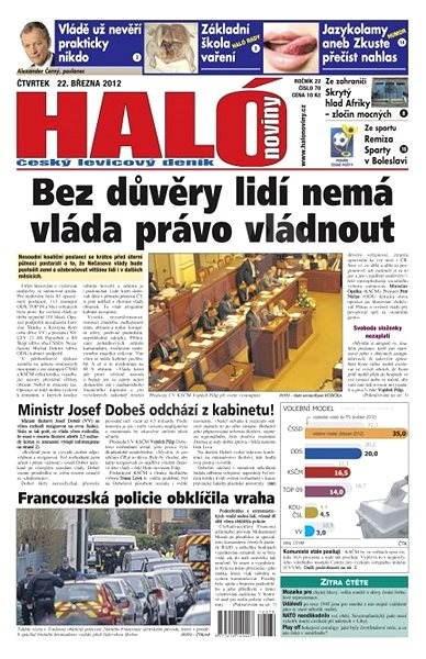 Haló noviny - 22_03_2012 - Elektronické noviny