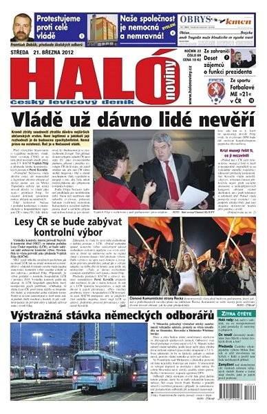 Haló noviny - 21_03_2012 - Elektronické noviny