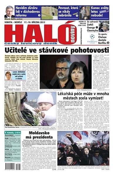 Haló noviny - 17_03_2012 - Elektronické noviny