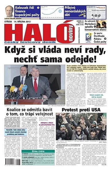 Haló noviny - 14_03_2012 - Elektronické noviny