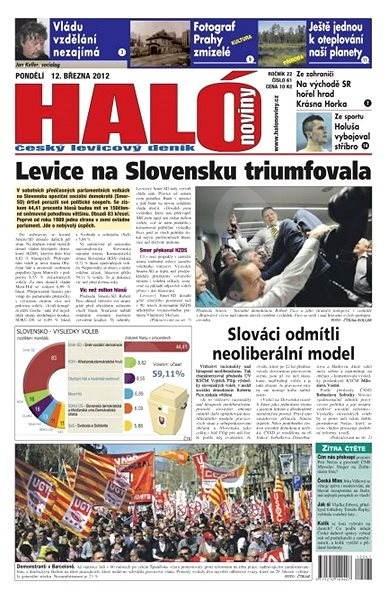 Haló noviny - 12_03_2012 - Elektronické noviny