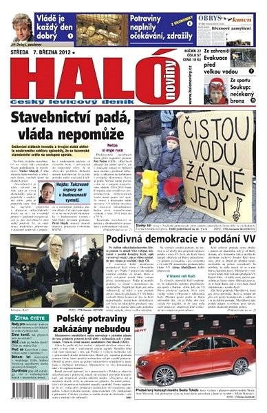 Haló noviny - 07_03_2012 - Elektronické noviny