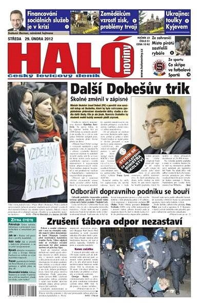 Haló noviny - 29_02_2012 - Elektronické noviny
