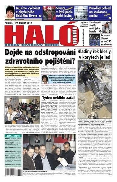 Haló noviny - 27_02_2012 - Elektronické noviny