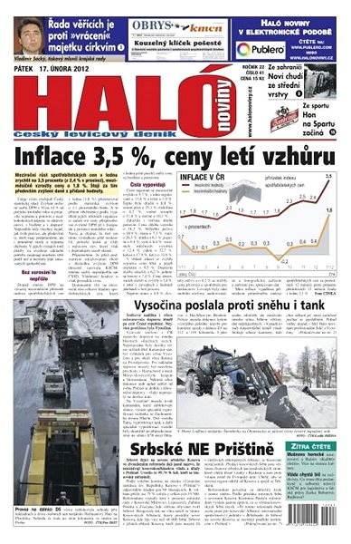 Haló noviny - 17_02_2012 - Elektronické noviny