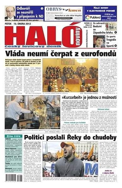 Haló noviny - 10_02_2012 - Elektronické noviny