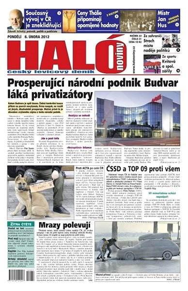 Haló noviny - 06_02_2012 - Elektronické noviny