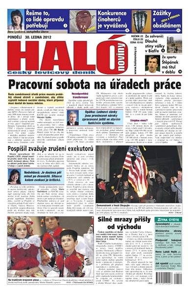 Haló noviny - 30_01_2012 - Elektronické noviny