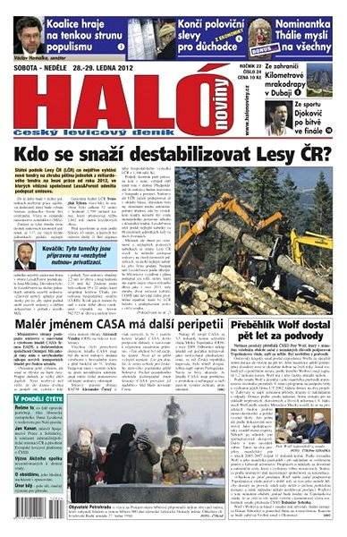 Haló noviny -  28_01_2012 - Elektronické noviny