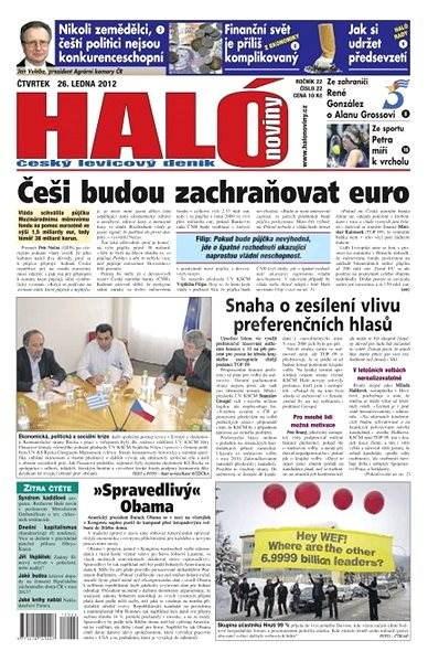 Haló noviny - 26_01_2012 - Elektronické noviny