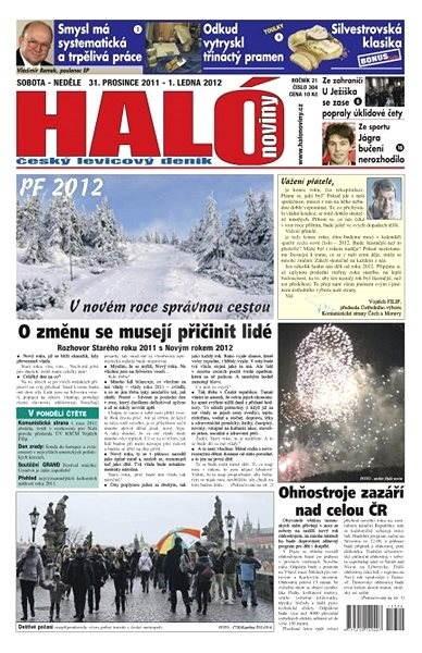 Haló noviny - 31_12_2011 - Elektronické noviny