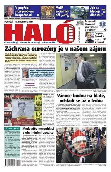 Haló noviny - 12_12_2011 - Elektronické noviny