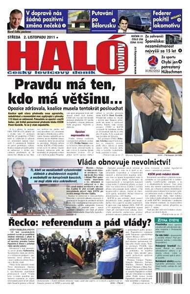 Haló noviny - 256 - Elektronické noviny