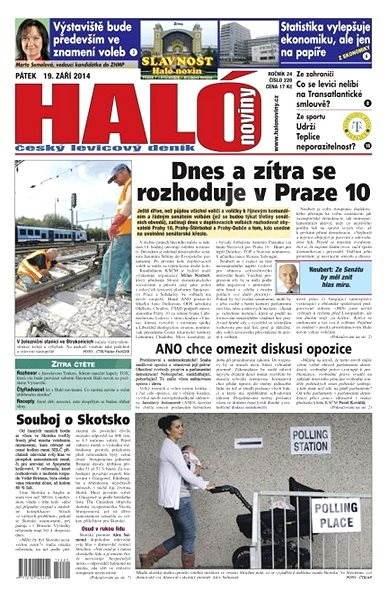 Haló noviny - 19_09_2014 - Elektronické noviny