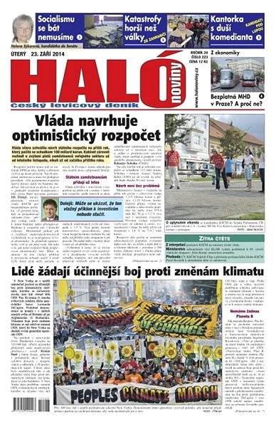 Haló noviny - 23_09_2014 - Elektronické noviny