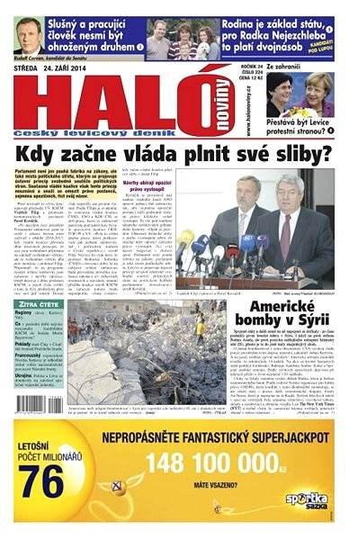 Haló noviny - 24_09_2014 - Elektronické noviny