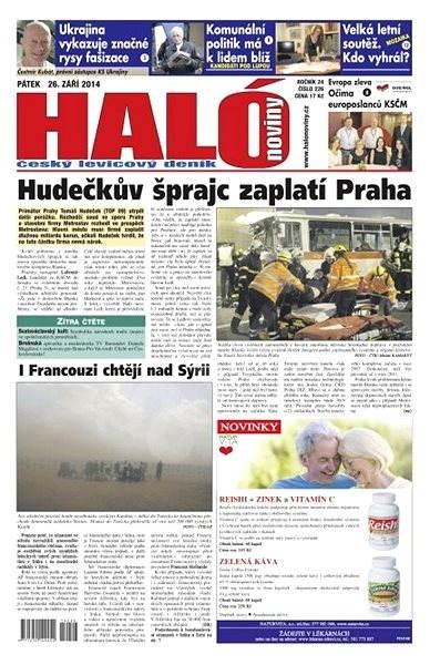Haló noviny - 26_09_2014 - Elektronické noviny