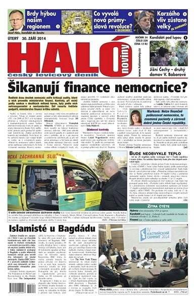 Haló noviny - 30_09_2014 - Elektronické noviny