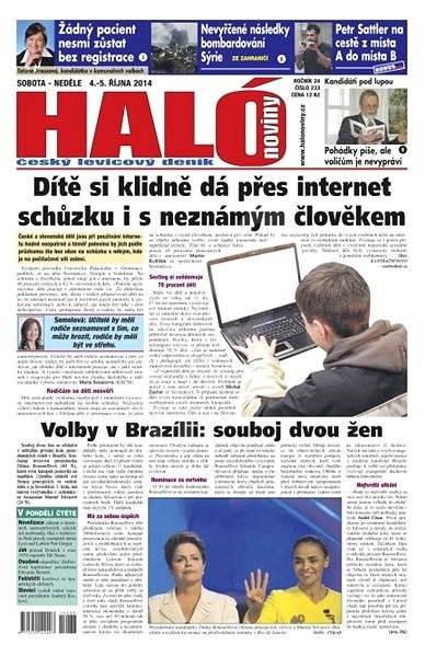 Haló noviny - 04_10_2014 - Elektronické noviny