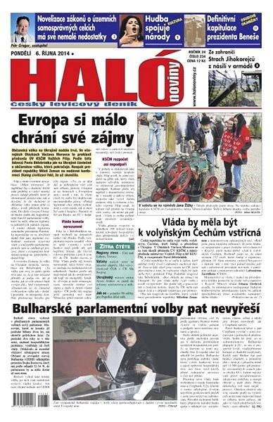 Haló noviny - 06_10_2014 - Elektronické noviny