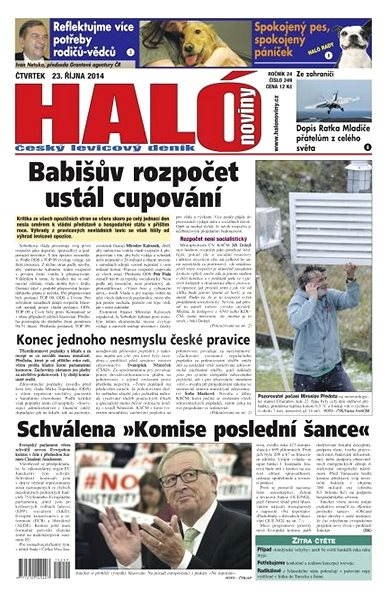 Haló noviny - 23_10_2014 - Elektronické noviny