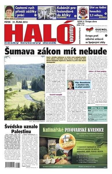 Haló noviny - 31_10_2014 - Elektronické noviny