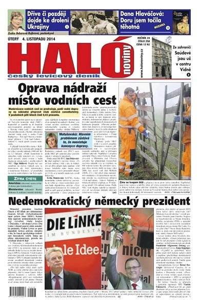 Haló noviny - 04_11_2014 - Elektronické noviny