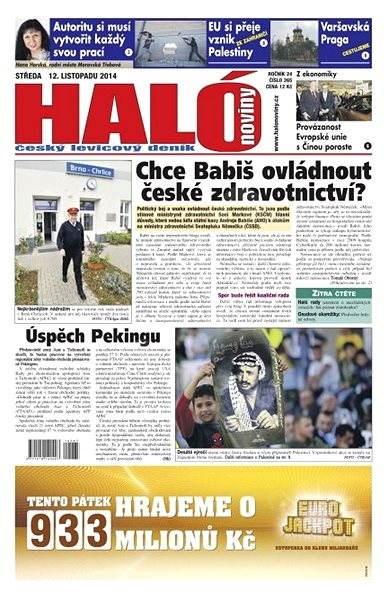 Haló noviny - 12_11_2014 - Elektronické noviny