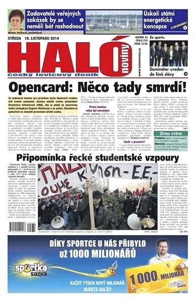 Haló noviny - 19_11_2014 - Elektronické noviny