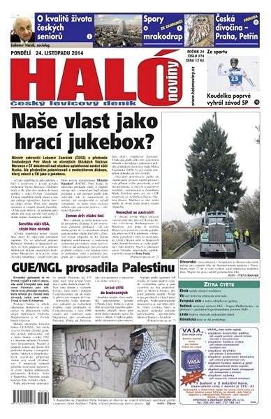 Haló noviny - 24_11_2014 - Elektronické noviny