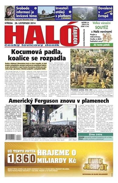 Haló noviny - 26_11_2014 - Elektronické noviny