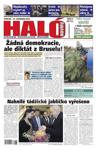 Haló noviny - 27_11_2014 - Elektronické noviny