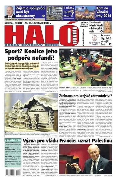 Haló noviny - 29_11_2014 - Elektronické noviny